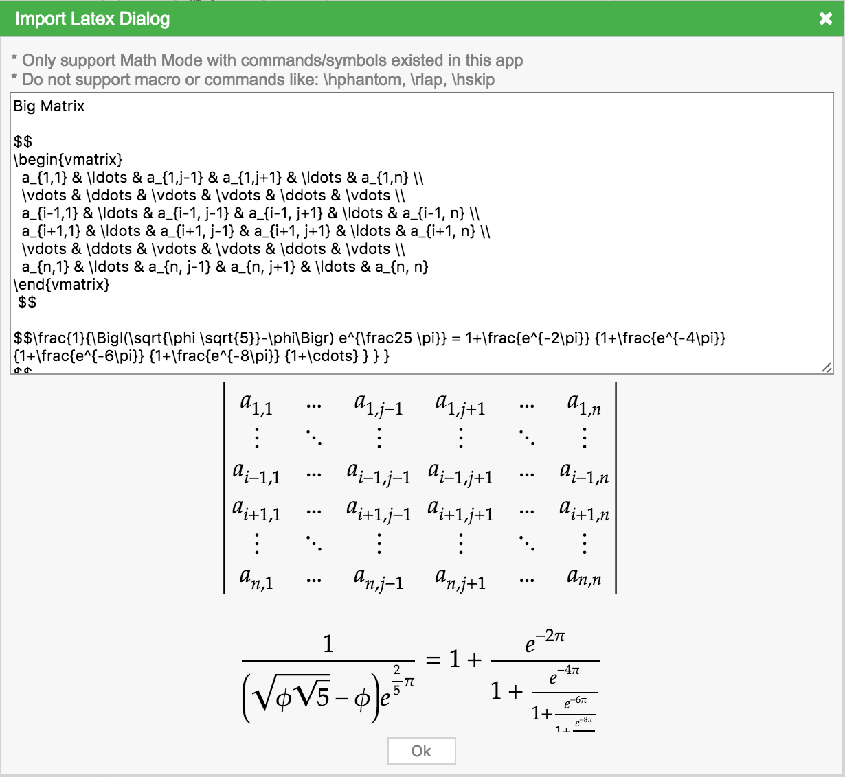 Mathcha online math editor import latex view buycottarizona
